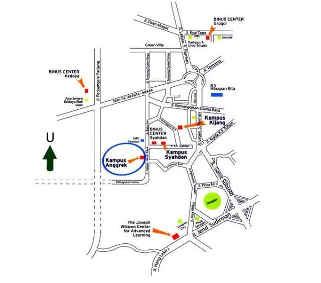 Peta BiNus