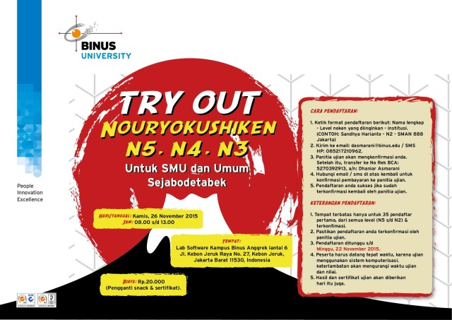 Flyer A4 Try Out-01