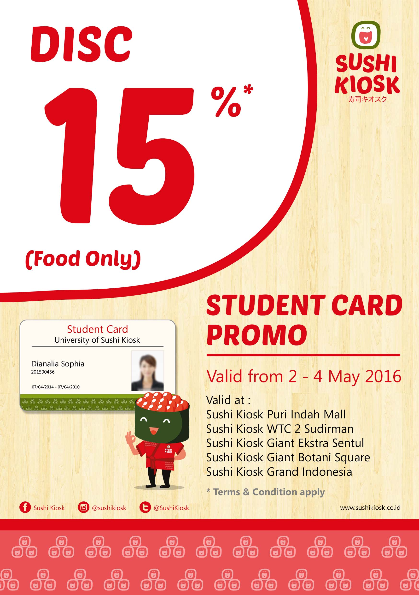 Student Card Promo