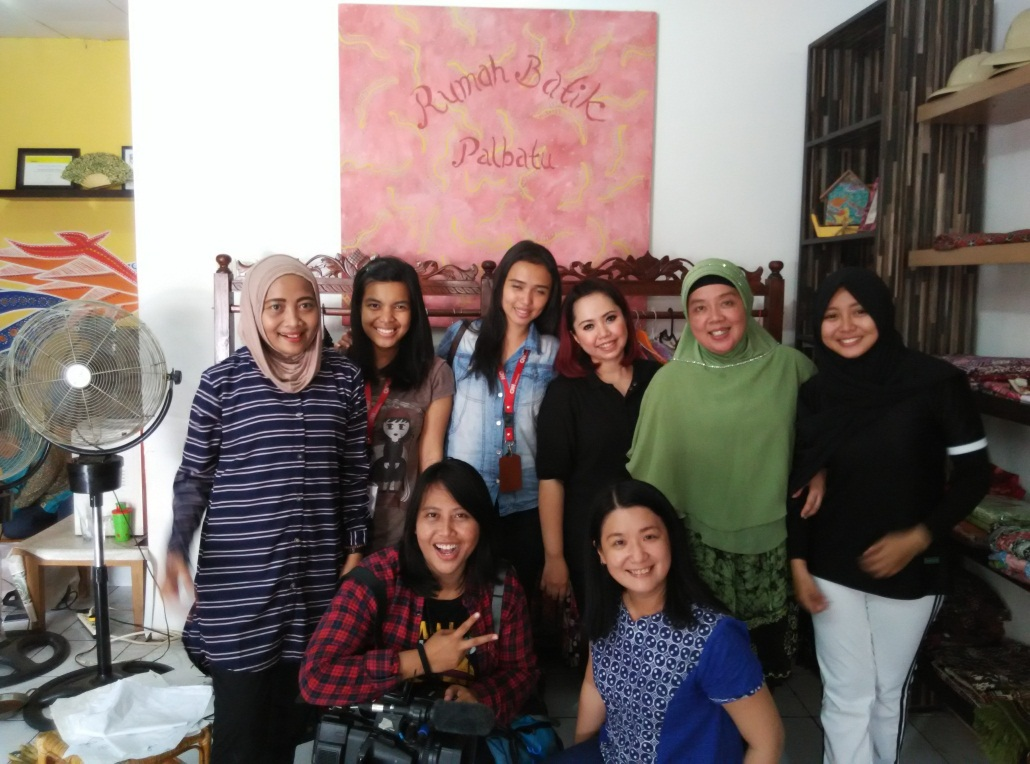 Foto bersama staff CNN Indonesia