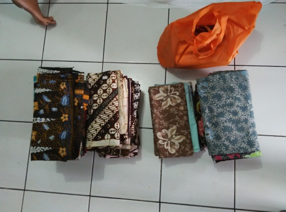 Seperti inilah contoh-contoh Batik hasil dari Rumah Batik Palbatu