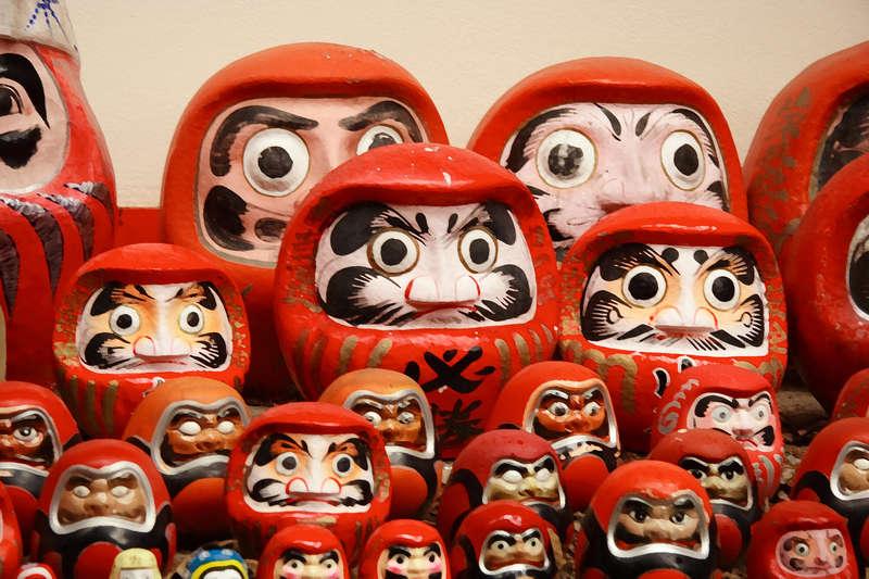 Boneka Daruma - Pengabul Permintaan