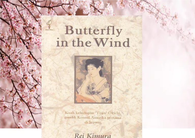 Butterfly in the Wind, Novel karya Rei Kimura
